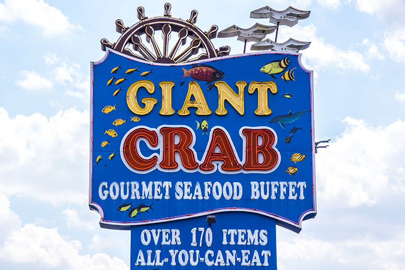 Coupon giant crab myrtle beach